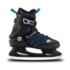 Прогулочные коньки K2 F.I.T. ICE Black-Aquamarine