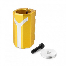 Хомут-Y Fox SCS d 28.6 and 31.8, 4 bolts ,Золотой