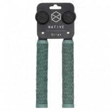Грипсы для самокатов NATIVE Emblem Hand Grips - Leaf