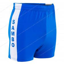 Шорты для самбо р.34-42 Blue