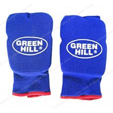 Накладки на кисть Green Hill Эластик HP-6133 х/б Blue