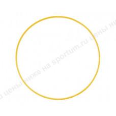 Обруч пластиковый для гимнастики 60см d-18 Yellow