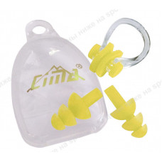 Комплект для плавания зажим для носа и беруши C33423-4
