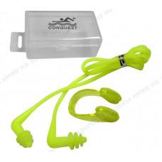 Комплект для плавания зажим для носа и беруши C33555-3