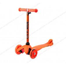 Самокат детский CITY-RIDE с цвет.стойкой Orange