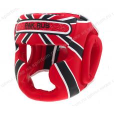 Шлем боксерский Pak Rus PR-13-004 Red