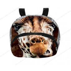 Мешок-рюкзак складной RT, на самокат и велосипед Жираф