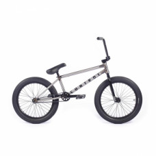 """BMX Велосипед Cult Control B 20"""" 2021 (некрашеный / черный)"""