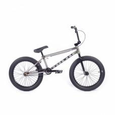 """BMX Велосипед Cult Gateway B 20"""" 2021 (некрашеный / черный)"""