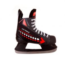 Хоккейные прокатные коньки Rental 2 Red/ Black