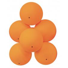 Мячи для настольного тенниса Атеми 1*, пластик, 40+, оранж., 6 шт., ATB101