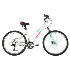 "Велосипед FOXX 26"" BIANKA D белый, алюминий, размер 19"""