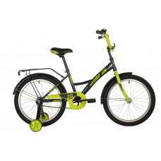 """Велосипед FOXX 20"""" BRIEF зеленый, сталь, тормоз нож, крылья, багажник"""