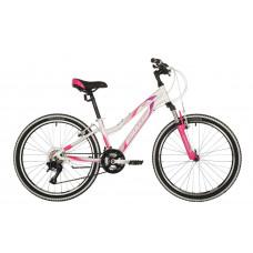 "Велосипед STINGER 24"" LAGUNA белый, алюминий, размер 14"", MICROSHIFT"
