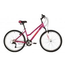 "Велосипед FOXX 26"" BIANKA розовый, алюминий, размер 17"""