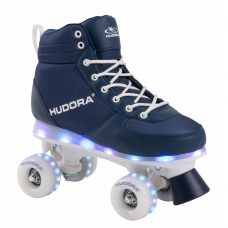 Ролики-квады HUDORA Advanced LED  р-р 33-34