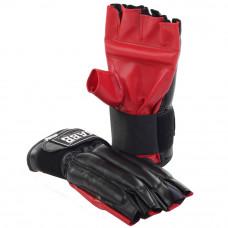 Шингарты (иск.кожа) Jabb JE-черный/красный XL