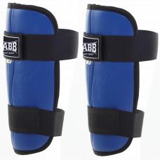Защита голени (иск.кожа) Jabb JE-2синий XL