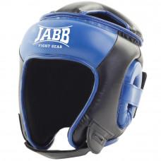 Шлем бокс.(иск.кожа) Jabb JE-2093(P)  черный/синий S