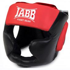 Шлем бокс.(иск.кожа) Jabb JE-2090 черный/красный M