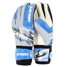 Перчатки вратарские Larsen Radium синий/чёрный р9