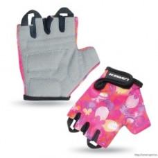 Велоперчатки детские Larsen 0розовый XXXS