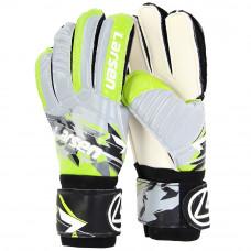 Перчатки вратарские Larsen Agressive серый/зеленый р7