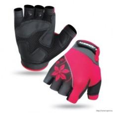 Велоперчатки Larsen 0розовый XS
