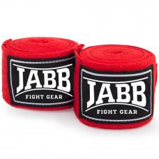 Бинты бокс. эластичные Jabb JE-3030 красный 3,5м