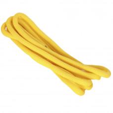 Скакалка для х/г AS4 ПП+ПА d3м жёлтая с люрексом