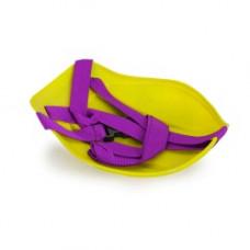 Санки-ледянки с ремнем Престиж желтый