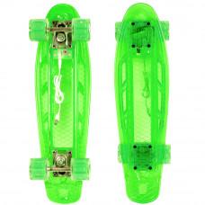 Мини-круизер Larsen Lights зеленый
