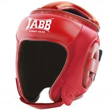 Шлем бокс.(иск.кожа) Jabb JE-2093(P) красный L