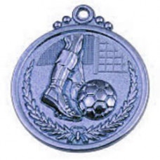 Медаль футбол (29) серебро 50мм (2009)