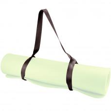 Ремешок для переноски ковриков и валиков Larsen PS x 3,8 см черный (полиэстер)