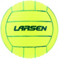 Мяч Larsen PVC Volleyball Lime/Blue 22 см