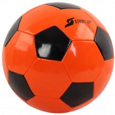 Мяч футбольный для отдыха Start Up E5оранж/чёрн р5