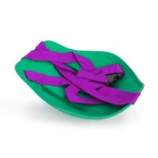 Санки-ледянки с ремнем Престиж зеленый