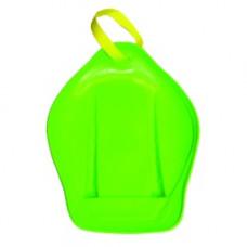 Санки-ледянки с ручкой-ремнем Престиж оттенок зеленый