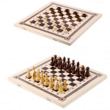 Набор 2 в(шашки,шахматы), 40*20*4 см, B-6