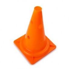 Конус с отверстиями У622 (оранжевый) 23,5*23,5*32,5 см
