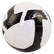 Мяч футбольный для отдыха Start Up E5бел/чёрн р5