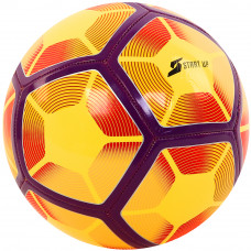 Мяч футбольный для отдыха Start Up E5жёлт/фиолетов р5