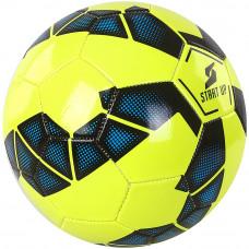 Мяч футбольный для отдыха Start Up E5лайм/синий р5