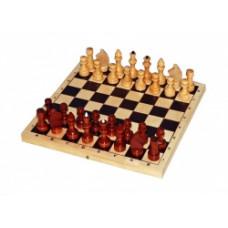 Шахматы лакированные с доской, 29*см, P-1