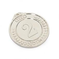 Медаль классическая (5027) серебро 50мм (9980)