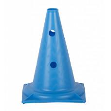 Конус с отверстиями У848 (голубой) 23,5*23,5*32,5 см