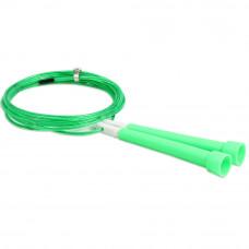 Скакалка скоростная для кроссфита Start Up ЕСЕ 03 зеленая, 270 см