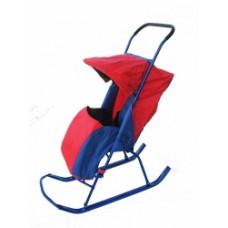 Санки-коляска Малышок №1
