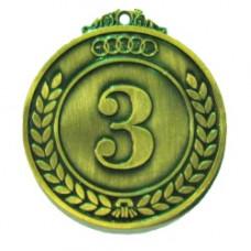 Медаль классическая (5027) бронза 50мм (9997)